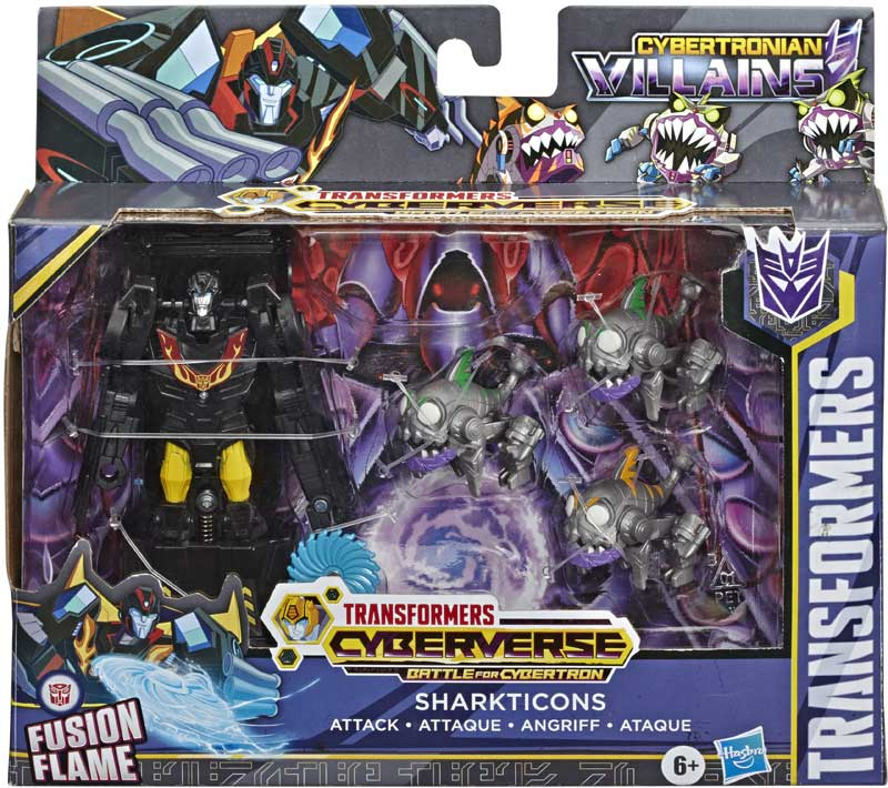 Wholesalers of Transformers Cyb Sharkticons Attack toys