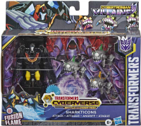 Wholesalers of Transformers Cyb Sharkticons Attack toys Tmb