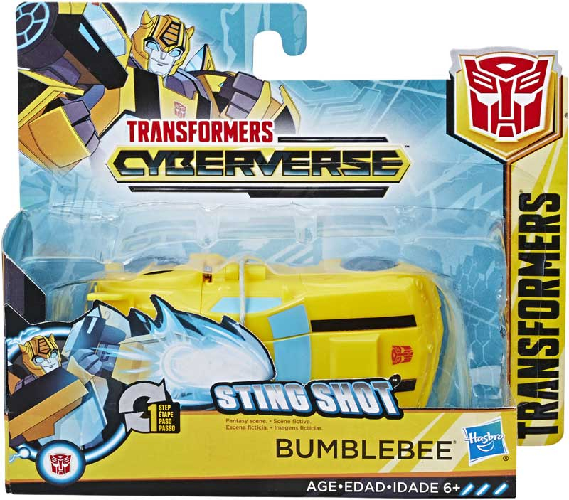 Wholesalers of Transformers Cyberverse 1 Step Bumblebee toys