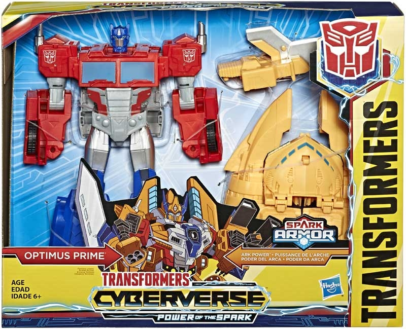 Wholesalers of Transformers Cyberverse Ark Power Optimus Prime toys