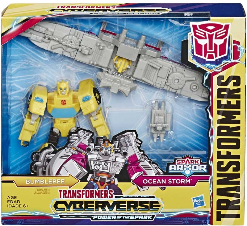 Wholesalers of Transformers Cyberverse Spark Armor Bumblebee toys