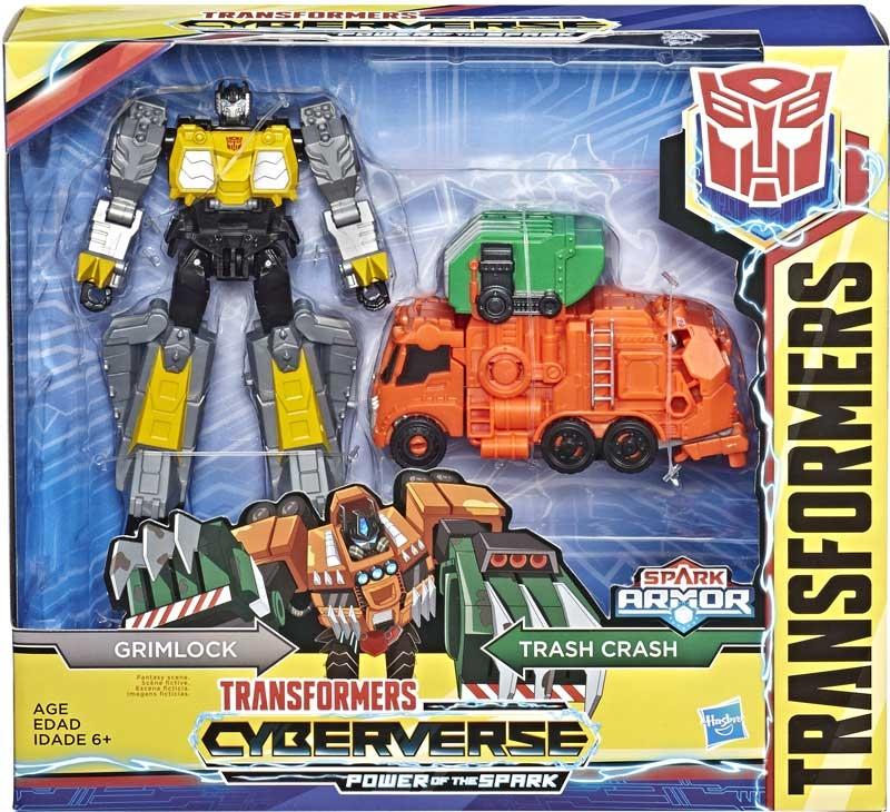 Wholesalers of Transformers Cyberverse Spark Armor Grimlock toys