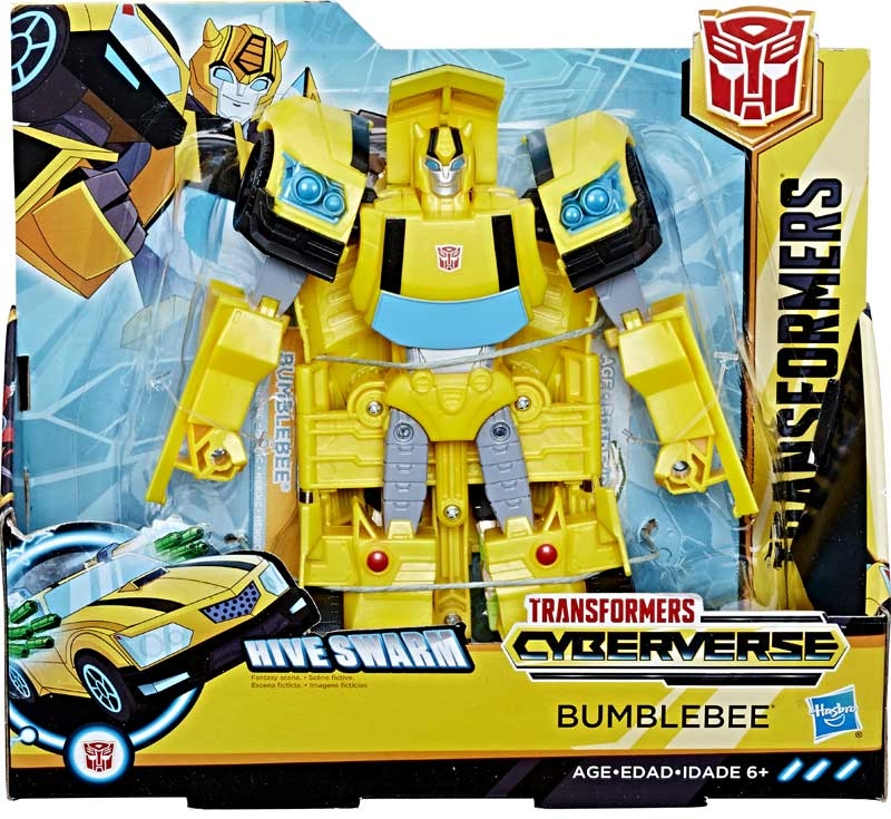 Wholesalers of Transformers Cyberverse Ultra Bumblebee toys