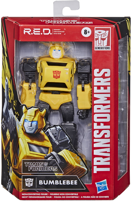 Wholesalers of Transformers Gen Red G1 Bumblebee toys