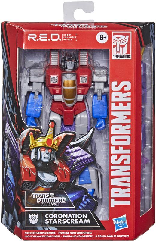 Wholesalers of Transformers Gen Red G1 Starscream toys