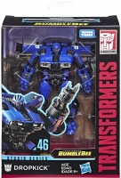 Wholesalers of Transformers Gen Studio Series Deluxe Blue Lightn toys image