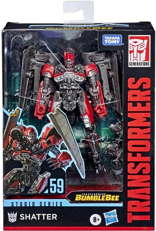 Wholesalers of Transformers Gen Studio Series Deluxe Shatter Jet toys