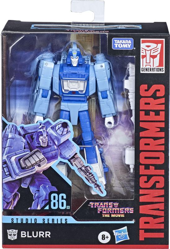 Wholesalers of Transformers Gen Studio Series Dlx 86 Blurr toys