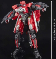Wholesalers of Transformers Gen Studio Series Dlx Red Lightning toys image 4