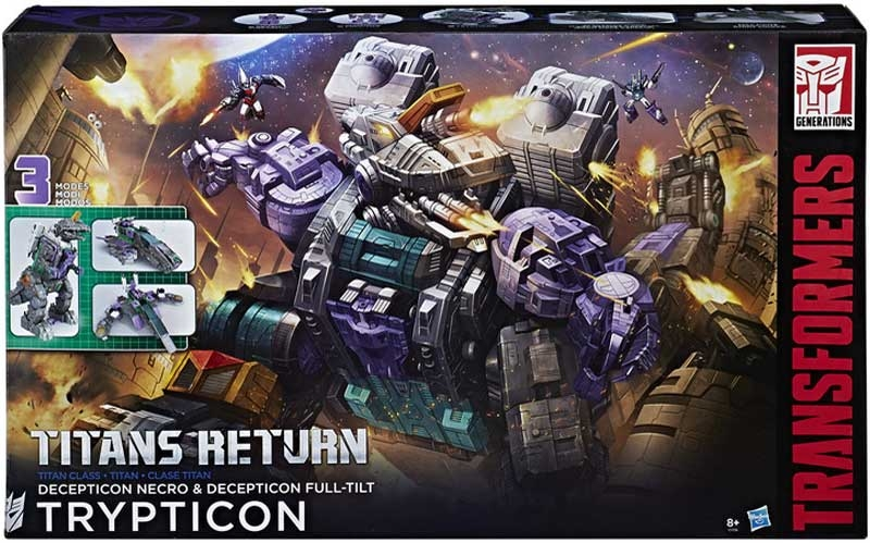 Wholesalers of Transformers Gen Trypticon toys