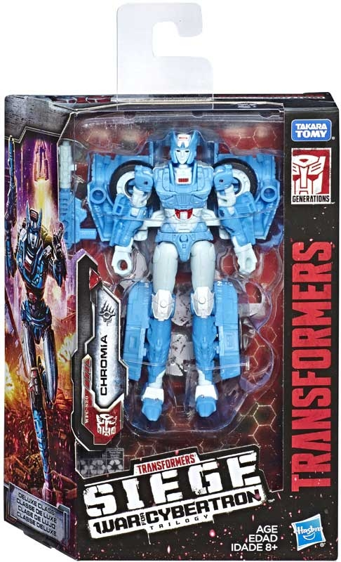 Wholesalers of Transformers Gen Wfc Deluxe Chromia toys
