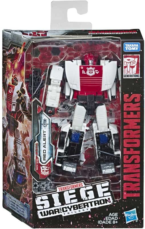 Wholesalers of Transformers Gen Wfc Deluxe Red Alert toys