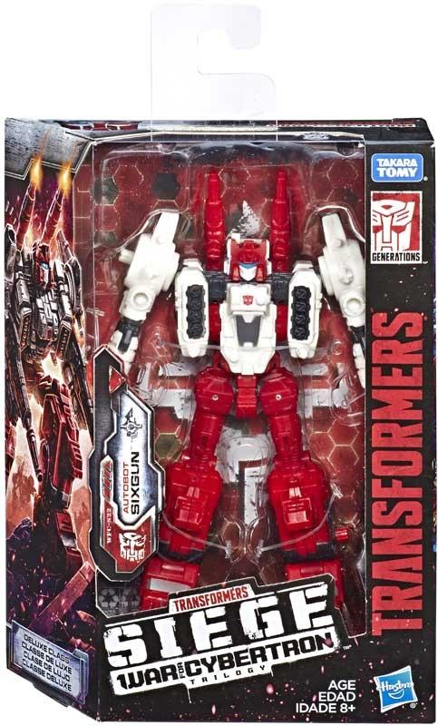 Wholesalers of Transformers Gen Wfc Deluxe Sixgun toys