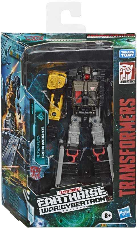 Wholesalers of Transformers Gen Wfc E Deluxe Ironworks toys
