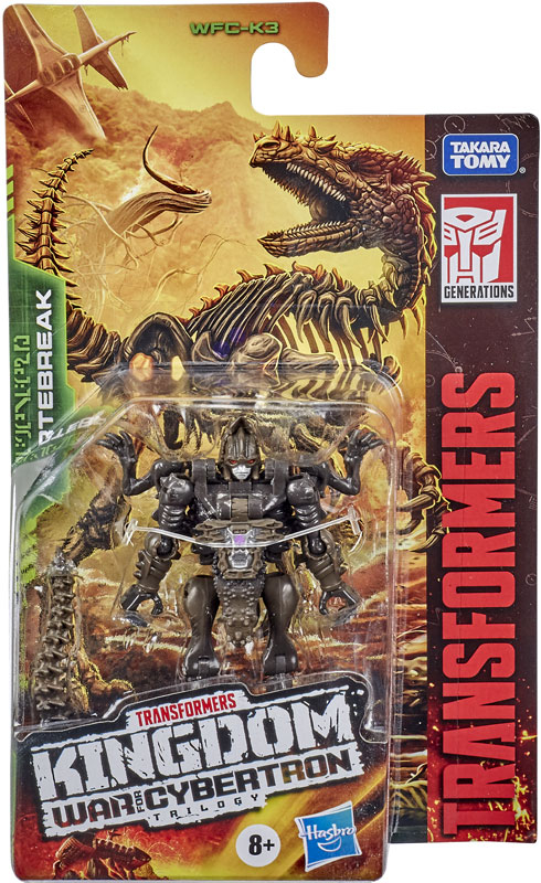 Wholesalers of Transformers Gen Wfc K Core Vertebreak toys