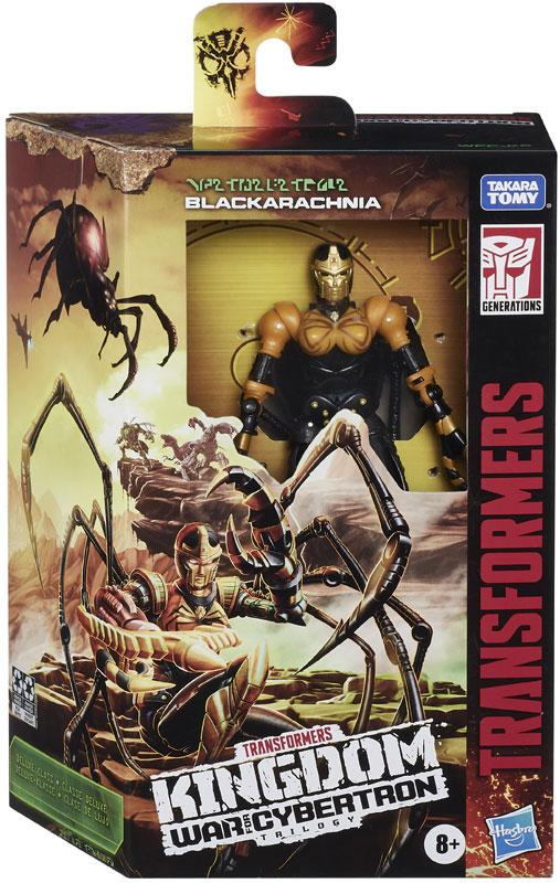 Wholesalers of Transformers Gen Wfc K Deluxe Black Arachnia toys