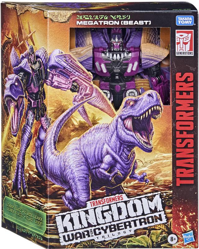 Wholesalers of Transformers Gen Wfc K Leader Trex Megatron toys
