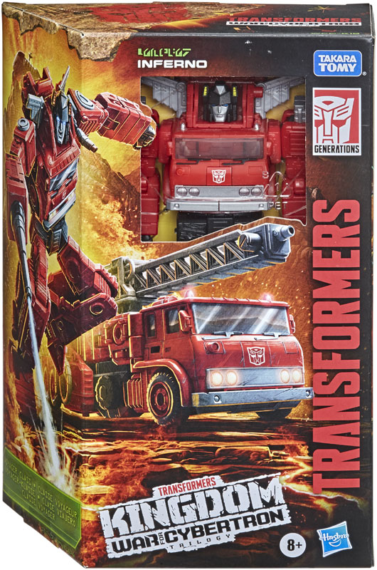 Wholesalers of Transformers Gen Wfc K Voyager Inferno toys