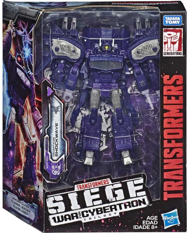 Wholesalers of Transformers Gen Wfc Leader Shockwave toys