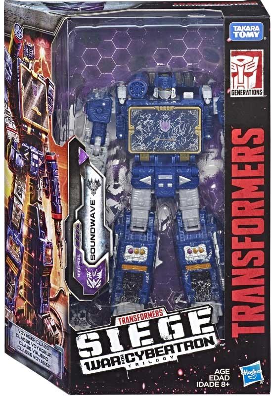 Wholesalers of Transformers Gen Wfc Voyager Soundwave toys