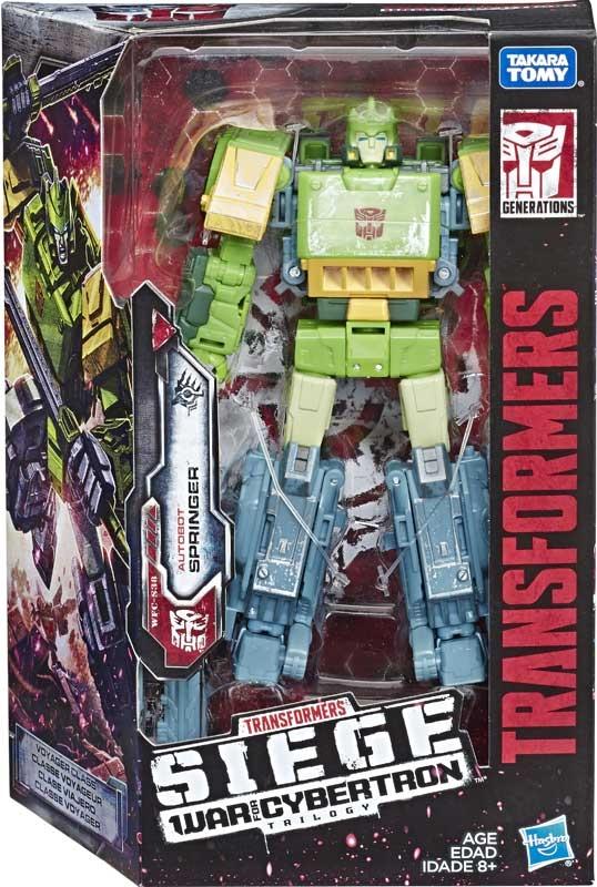 Wholesalers of Transformers Gen Wfc Voyager Springer toys