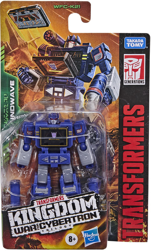 Wholesalers of Transformers Generations Wfc K Core Soundwave toys