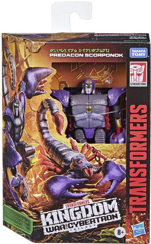 Wholesalers of Transformers Generations Wfc K Deluxe Scorponok toys