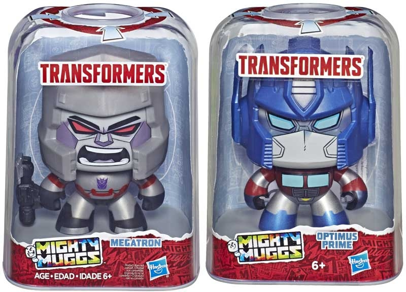 Wholesalers of Transformers Mighty Muggs Asst toys