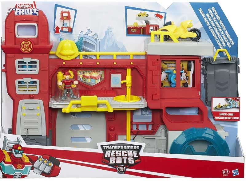 Wholesalers of Transformers Rescue Bot Headquarters toys