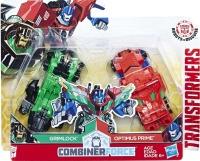 Wholesalers of Transformers Rid Crash Combiner Optimus Prime & Grimlock toys image