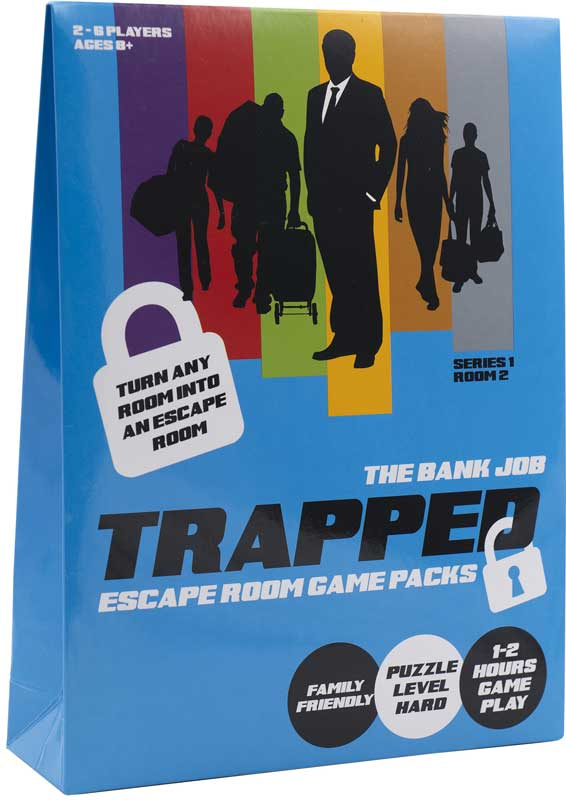 Wholesalers of Trapped Escape Room Game Bank Job toys