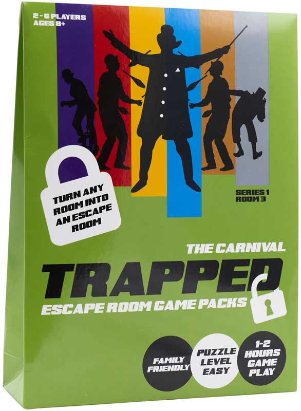 Wholesalers of Trapped Escape Room Game Carnival toys