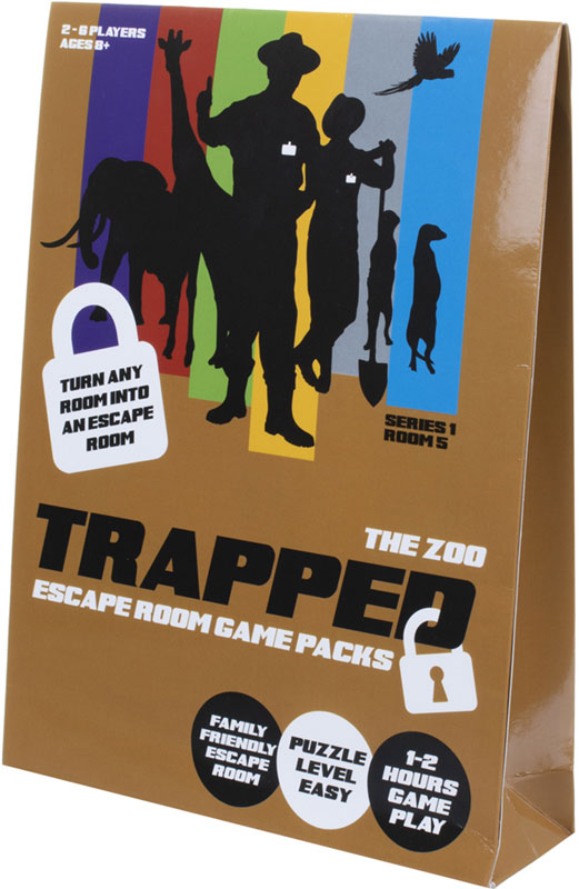 Wholesalers of Trapped Escape Room Game Packs The Zoo toys