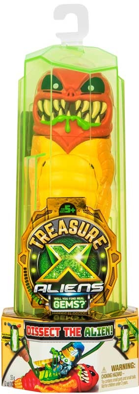 Wholesalers of Treasure X Aliens Single Pack S1 toys
