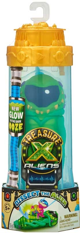 Wholesalers of Treasure X Aliens Single Pack S2 toys
