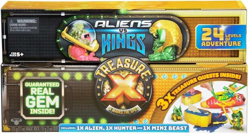 Wholesalers of Treasure X Aliens Vs Kings Treasure Set toys