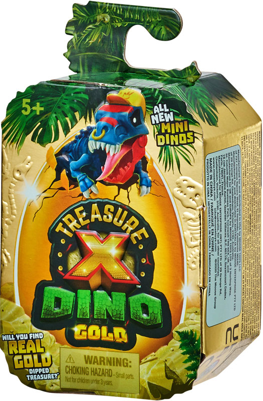 Wholesalers of Treasure X Dino Gold Mini Dino Pack toys