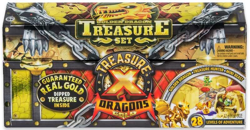 Treasure X Dragons Gold - Golden Dragon Set Wholesale