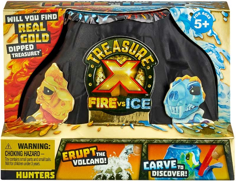 Wholesalers of Treasure X Fire Vs Ice Hunters Pack toys