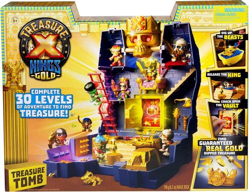 Wholesalers of Treasure X Kings Gold Treasure Tomb Playset toys