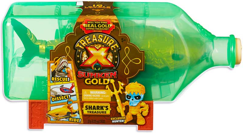 Wholesalers of Treasure X Sunken Gold Sharks Treasure toys