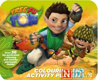 Wholesalers of Tree Fu Tom Colouring And Activity Placemats toys image