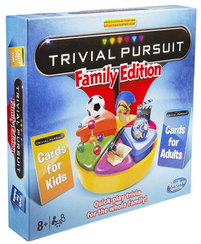 Wholesalers of Trivial Pursuit Family Edition toys