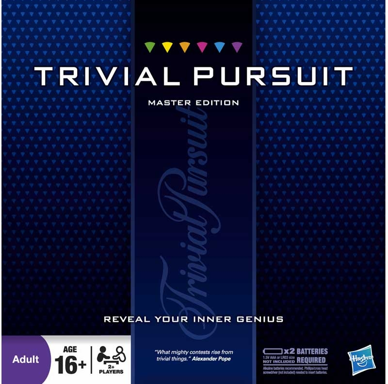 Wholesalers of Trivial Pursuit Master Edition toys