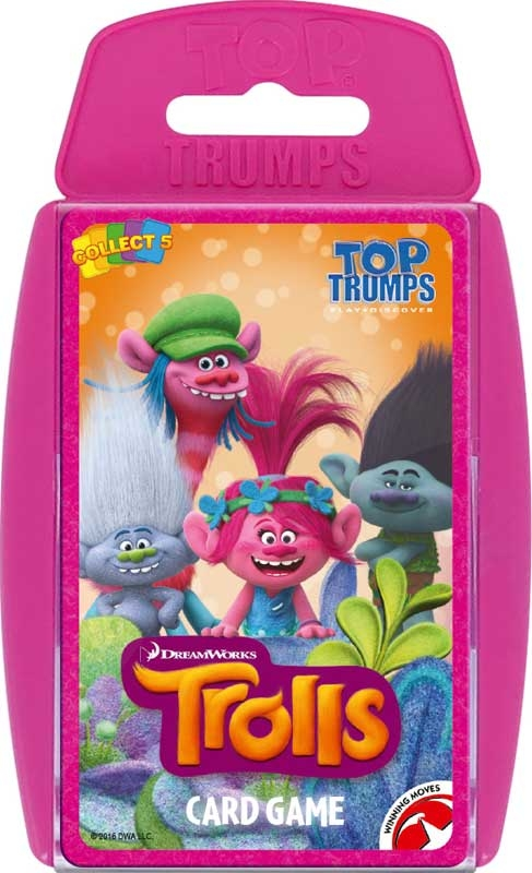 Wholesalers of Top Trumps - Trolls toys
