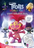 Wholesalers of Trolls 2 Copy Colour Pad toys image