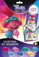 Wholesalers of Trolls 2 Paint By Numbers toys image