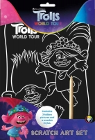 Wholesalers of Trolls 2 Scratch Art Set toys image