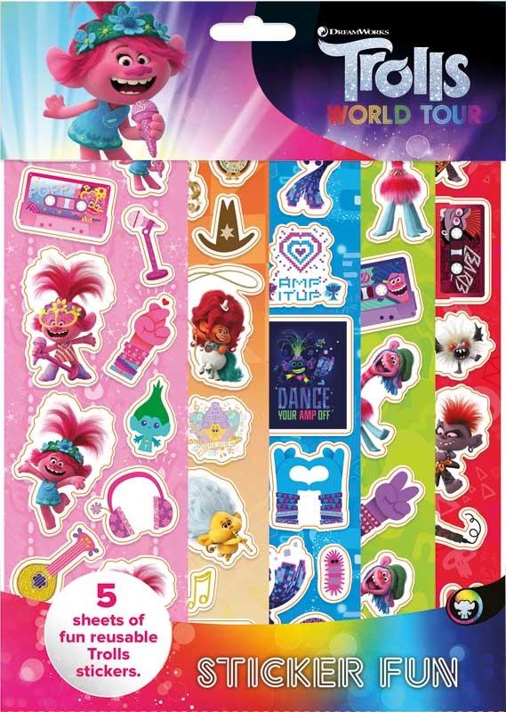 Wholesalers of Trolls 2 Sticker Fun toys