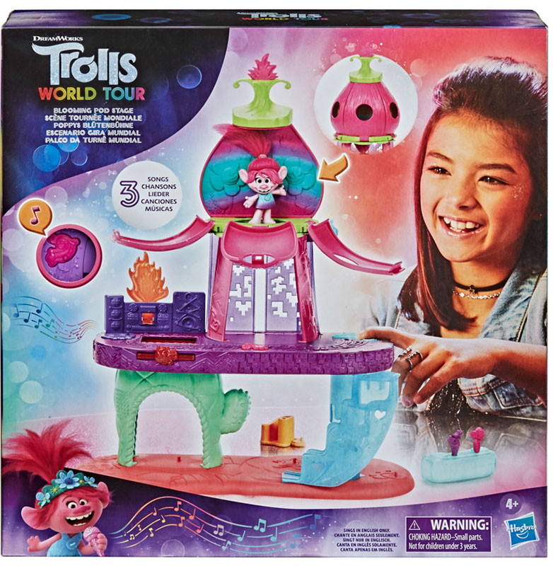 Wholesalers of Trolls Blooming Pod Stage toys